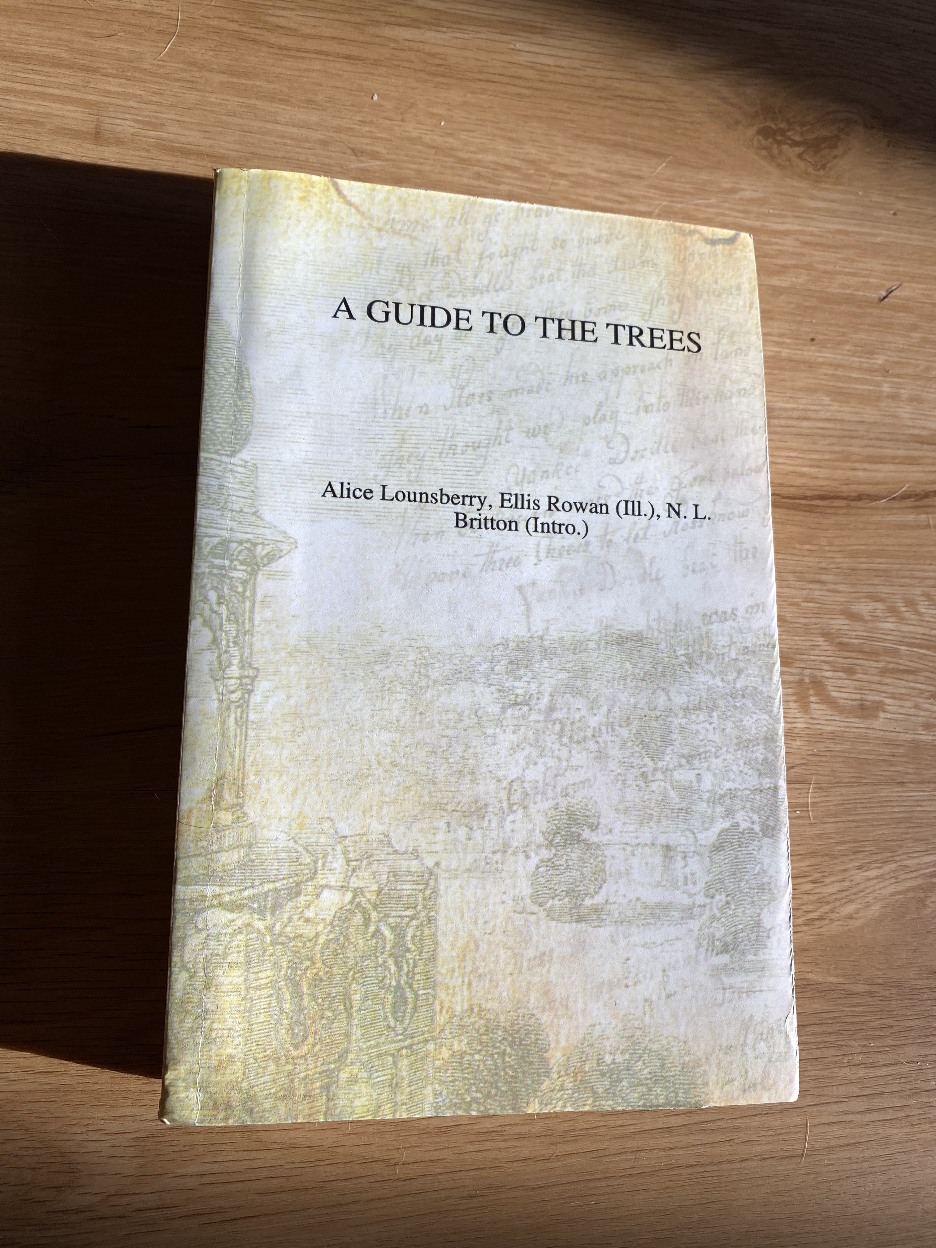 A Guide to the Trees - Front Cover