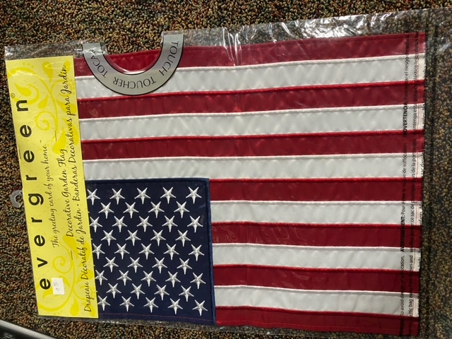 American Flag - decorative garden flag