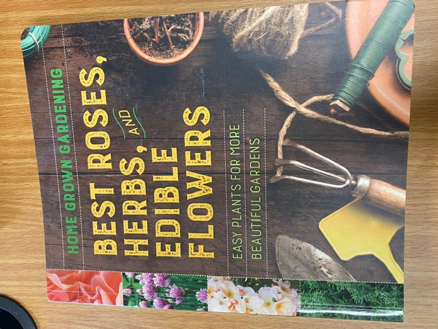Best Roses, Herbs, and Edible Flowers - Front Cover