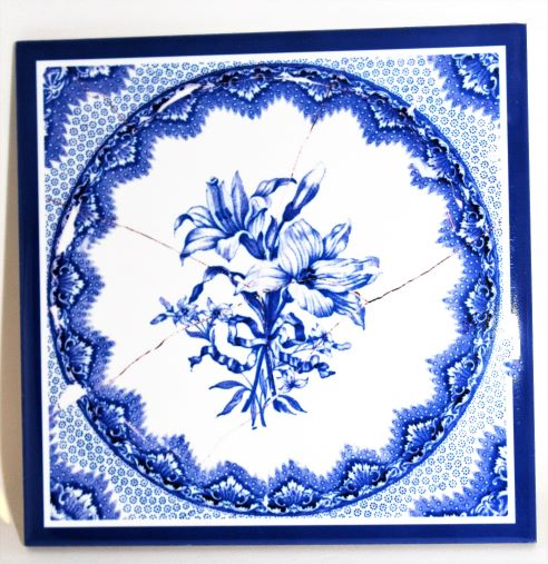 Authentic Replica Spode Tiles Reproduced from the Fort Vancouver Collections
