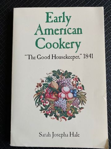 Early American Cookery - Book Cover