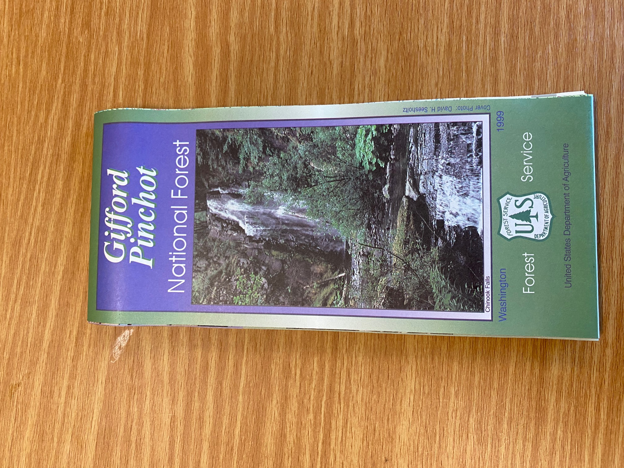 Gifford Pinchot National Forest map