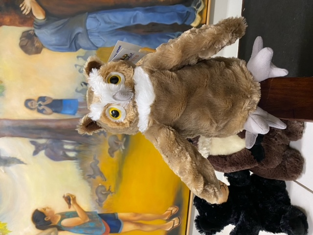 Great Horned Owl - Puppet