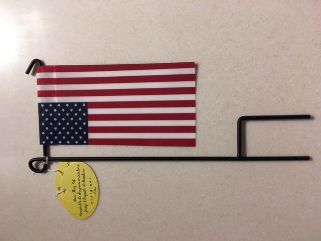 American Mini Flag Set