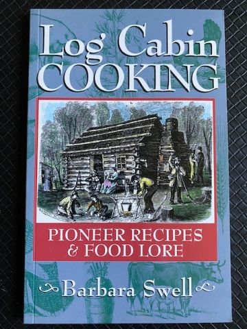 Log Cabin Cooking - book cover