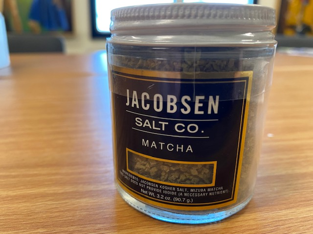 Jacobsen Salt Co. - Matcha