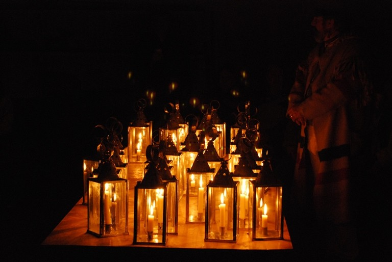2017-18 Fall and Winter Lantern Tours, experience Fort Vancouver by candlelight