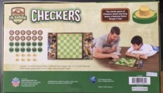 JR Ranger Collectible Checkers Set