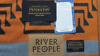 "Native American-Designed ""River People"" Pendleton Blanket"