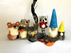 Juneko Martinson Needle Felting & Fiber Art Workshops