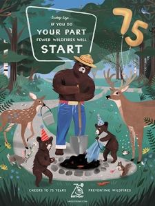 Celebrate Smokey Bear's 75th Birthday