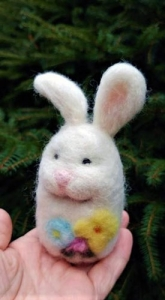 Spring Bunny Workshop with Fiber Artist Juneko Martinson