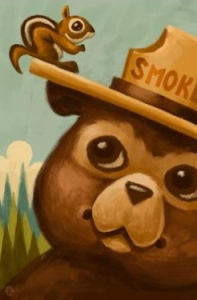 Celebrate Smokey Bear's Birthday